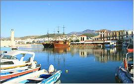 Rethymnon: Am venezianischen Hafen